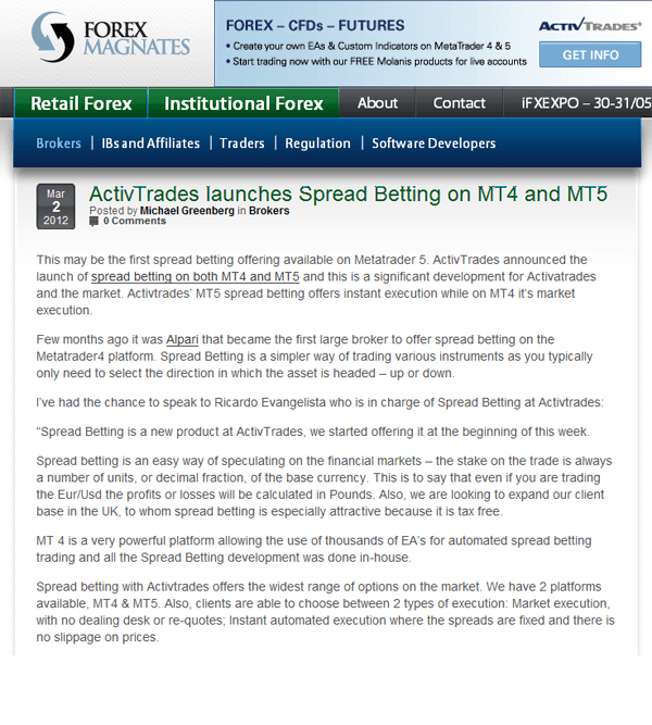 Ig spread betting mt4 indicator nfl football betting spreads