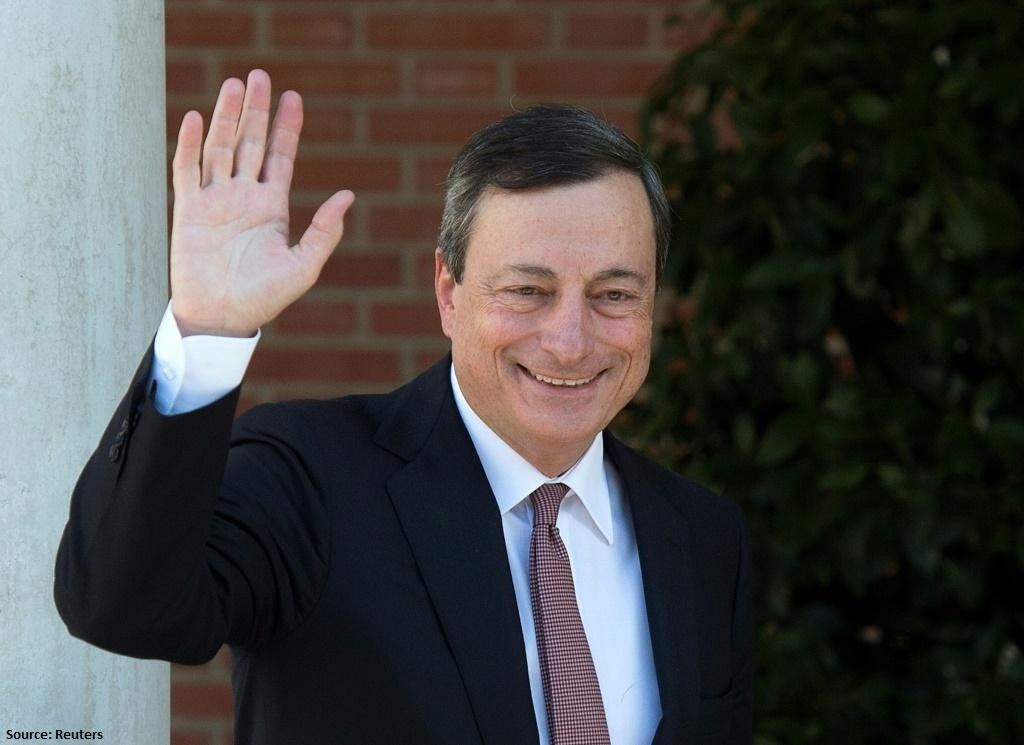 Draghi ends his term at the ECB with a dovish farewell